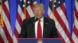 Trump holds feisty press conference