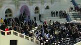 トランプ大統領就任式に向けリハーサル、当日は約30団体がデモ(字幕・15日)