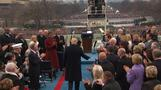 Trump arrives to be sworn in as 45th president