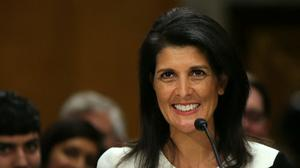 Senate confirms South Carolina Gov. Haley as U.S. Ambassador to U.N.