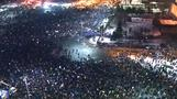 Romania government showing cracks amid mass protest