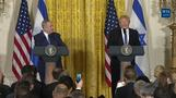 Trump meets Netanyahu, avoids pledge to two-state solution