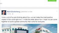 Facebook CEO's bid to reboot globalization