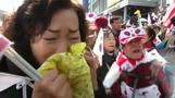 South Korean protesters react to impeachment ruling