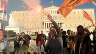 Greeks, migrants stage rally over EU-Turkey migrant deal