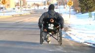 Meet Dennis Schulze, wheelchair road warrior