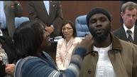Man honored for breaking up teen fight