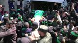 Palestinians hold funeral for senior Hamas militant killed in Gaza