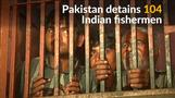 Pakistan arrests 104 Indian fishermen