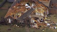 Homes destroyed in Texas tornadoes