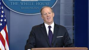 Trump was having 'a little bit of fun' with healthcare comments: Spicer