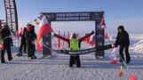 Polish, French runners triumph in North Pole race