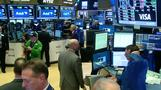 Wall St ends lower on geopolitical concerns