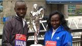 Wanjiru and Keitany talk about marathon success
