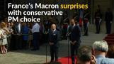 France's Macron surprises with premier choice
