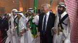 Trump, Tillerson, Ross dance with swords in Saudi Arabia