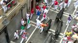 At least 10 hurt in Pamplona's final bull run