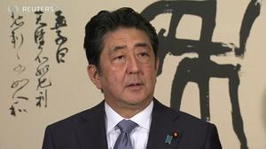Japan PM Abe denies favouritism amid falling support