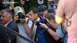 Weiner weeps as given jail sentence for sexting scandal