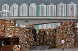 Hong Kong waste paper mounts as China imposes ban