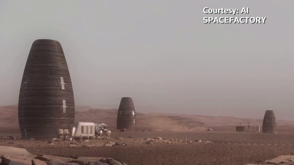 Mars base inspires fully recyclable homes for Earth