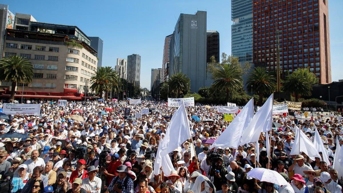 Massive protests in Mexico over gang violence