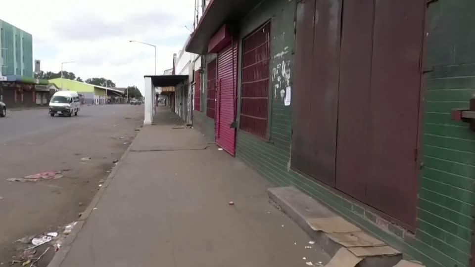 Zimbabwe enters lockdown amid economic crisis