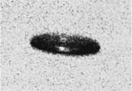 An undated image of a UFO. The French space agency is to publish its archive of UFO sightings and other phenomena online, but will keep the names of those who reported them off the site to protect them from pestering by space fanatics. REUTERS/Handout