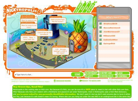 Nicktropolis is seen in an undated publicity image. Nickelodeon, the children's TV network of Viacom Inc.'s MTV Networks, said on Monday it would launch a Web-based virtual world for children called Nicktropolis. REUTERS/PRNewsFoto