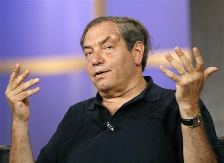 Creator and executive producer Dick Wolf gestures at the panel for the NBC television series ''Law & Order'' during the ''Television Critics Association'' summer media tour in Pasadena, California, July 21, 2006 file photo. REUTERS/Mario Anzuoni