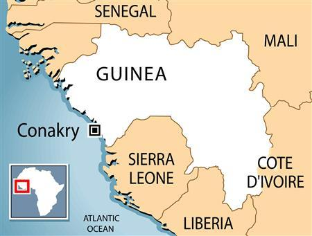 Sixty-five people were killed when a bridge collapsed under the weight of a truck near the town of Gueckedou in south-eastern Guinea, a senior army official in the West African country said on Tuesday. REUTERS/Graphic