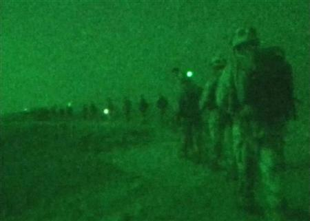 An undated night vision video grab. ITT Corp. has agreed to plead guilty and pay a penalty of up to $100 million for illegally exporting night vision goggles in 2001 to China, Singapore and the United Kingdom, the Justice Department said on Tuesday. REUTERS/File