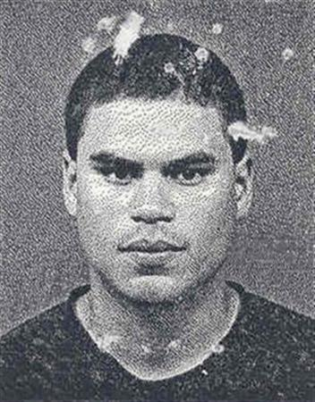 Jose Padilla is seen in an undated police handout photo from the Broward County Sheriff's office. Five years after the U.S. attorney general announced on live television that Padilla was a ''known terrorist'' plotting to set off a radioactive bomb, a federal court must find a jury willing to presume he is innocent. REUTERS/Handout