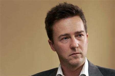 Actor Edward Norton reacts to questions during an interview about his work in the movie ''The Painted Veil'' in New York in this December 15, 2006 file photo. Norton will play scientist-turned-superhero Bruce Banner in a new movie version of ''The Incredible Hulk,'' Marvel Entertainment said on Monday. REUTERS/Lucas Jackson