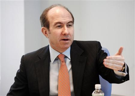 Viacom Inc. President and Chief Executive Officer Philippe Dauman speaks at the Reuters Global Technology, Media and Telecoms Summit in New York May 14, 2007. REUTERS/Keith Bedford