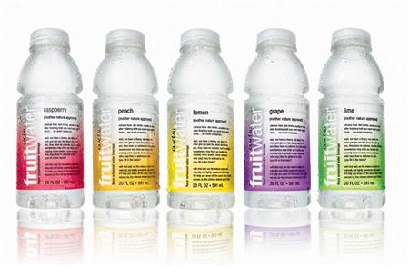 Bottles of Glaceau Fruitwater in an undated file photo. Coca-Cola Co. has filed a premerger notification with U.S. regulators about the proposed acquisition of vitamin water maker Glaceau, industry publication Beverage Digest reported on Monday. REUTERS/PRNewsFoto