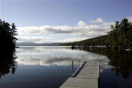 A general view of Rangeley Lake in Maine in a file photo. The landmark U.S. law to fight water pollution will now apply only to bodies of water large enough for boats to use, and their adjacent wetlands, and will not automatically protect streams, the government said on Tuesday. REUTERS/Brian Snyder