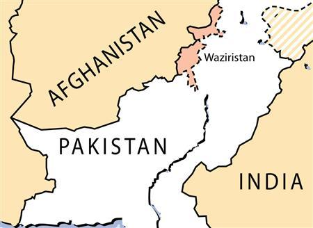 A missile attack killed at least 17 pro-Taliban militants and wounded 10 in a Pakistani tribal region near the Afghan border on Tuesday, according to independent television news channels. REUTERS/Graphic
