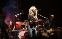 <p>Robert Plant, ex-vocalista do Led Zeppelin, durante apresentação na cidade sérvia de Novi Sad. A banda britânica Led Zeppelin vai disponibilizar online seu catálogo de músicas pela primeira vez, no próximo mês, informou o grupo. Photo by Marko Djurica</p>
