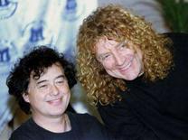 <p>Robert Plant e Jimmy Page do Led Zeppelin na Turquia. O Led Zeppelin tocou junto poucas vezes desde que se separou em 1980, após a morte inesperada do baterista John Bonham, e seus integrantes reconhecem que cada uma dessas ocasiões foi 'um caos'.Foto do Arquivo. Photo by Fatih Saribas</p>