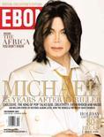 <p>Michael Jackson está na capa da nova edição da revista norte-americana 'Ebony'. O astro deu uma rara entrevista para lembrar os 25 anos do álbum 'Thriller'. Photo by Reuters (Handout)</p>