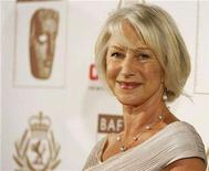 <p>File photo shows actress Helen Mirren posing at the 16th annual BAFTA/LA Cunard Britannia awards in Los Angeles November 1, 2007. REUTERS/Mario Anzuoni</p>