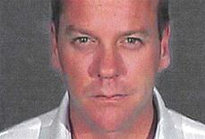 "<p>Keifer Sutherland is pictured in this police booking photograph released by the Glendale California Police Department on December 5, 2007. Sutherland, star of the hit television series ""24,"" was formally sentenced on Wednesday to 48 days in jail for drunken driving, and his lawyer said the actor would begin doing time immediately with Sutherland serving the 48 days consecutively at the Glendale, California city jail. REUTERS/Glendale California Police Department/Handout</p>"