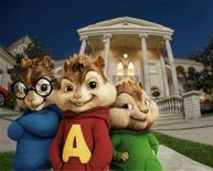 "<p>Animated characters from the film ""Alvin and the Chipmunks"", Simon (L), Alvin (C) and Theodore, are shown in this undated publicity photo released to Reuters December 10, 2007. The family film ""Alvin and The Chipmunks"" opens in theaters on December 14, long after 1958's ""The Chipmunk Song (Christmas Don't Be Late) catapulted to fame the ersatz rodent trio and their real-life creator, Ross Bagdasarian. REUTERS/20th Century Fox/Handout</p>"