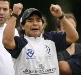 <p>L'argentino Diego Maradona in una immagine di archivio REUTERS/Enrique Marcarian</p>