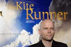 "<p>Director of ""The Kite Runner"" Marc Forster attends the premiere of the film in Hollywood December 4, 2007. REUTERS/Phil McCarten (</p>"