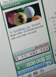 <p>Immagine d'archivio di un sito online di gioco d'azzardo. REUTERS/Toby Melville (BRITAIN)</p>