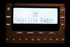 <p>An XM Satellite Radio unit is shown installed in a private vehicle in Washington, February 20, 2007. REUTERS/Jason Reed</p>