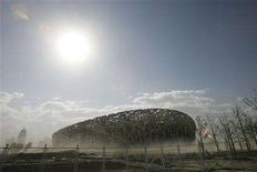 <p>A general view of the National Olympic Stadium in Beijing in this May 17, 2007 file photo. Even producers who have covered multiple Olympics know this is going to be different. Some are prepared to do battle with the Beijing authorities to protect their journalistic freedoms if need be. REUTERS/Alfred Cheng Jin</p>
