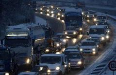 <p>Traffico in autostrada. REUTERS/Alexandra Beier</p>